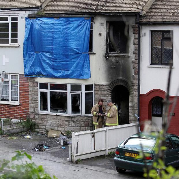 A third person has died following a fire at a house in Chatham, Kent