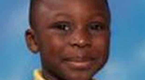Samuel Orola, five, died after he fell from a climbing frame in his school playground