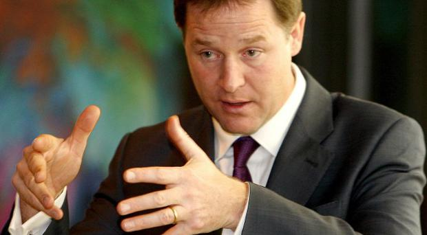 Nick Clegg's Liberal Democrats could block any move to attempt to scrap the 50p top rate of tax