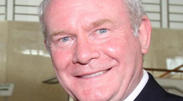 Martin McGuinness said if he became President of Ireland he would be willing to meet all international guests, including the Queen