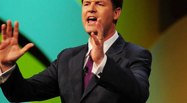 Just 24 per cent of people polled said they view the Lib dems as a 'credible party of government'