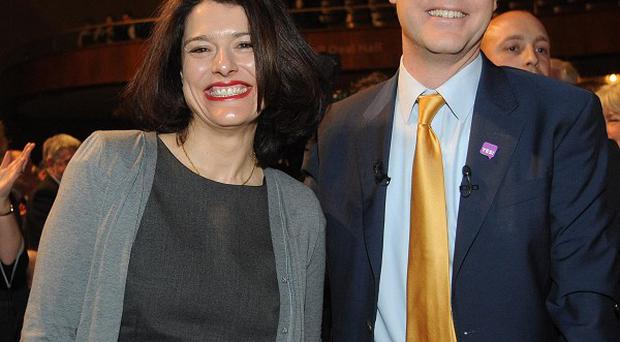 Deputy Prime Minister Nick Clegg denied his wife Miriam Gonzalez Durantez wanted him to step down