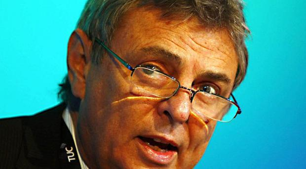 Unison general secretary Dave Prentis called for a 'substantial' increase in the minimum wage