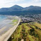 The spectacular view from Slieve Donard is worth the climb for former world champion boxer Barry McGuigan