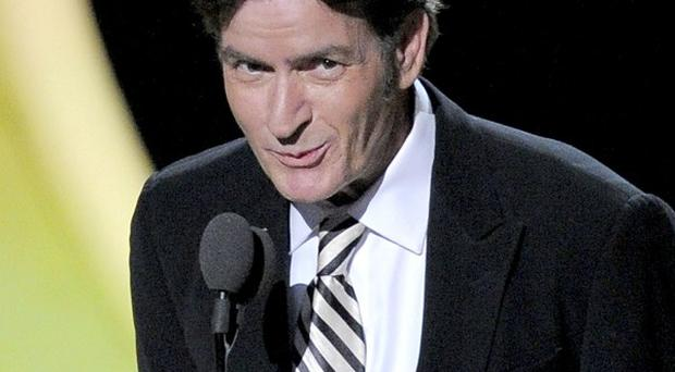 Charlie Sheen has wished Ashton Kutcher well on Two And A Half Men