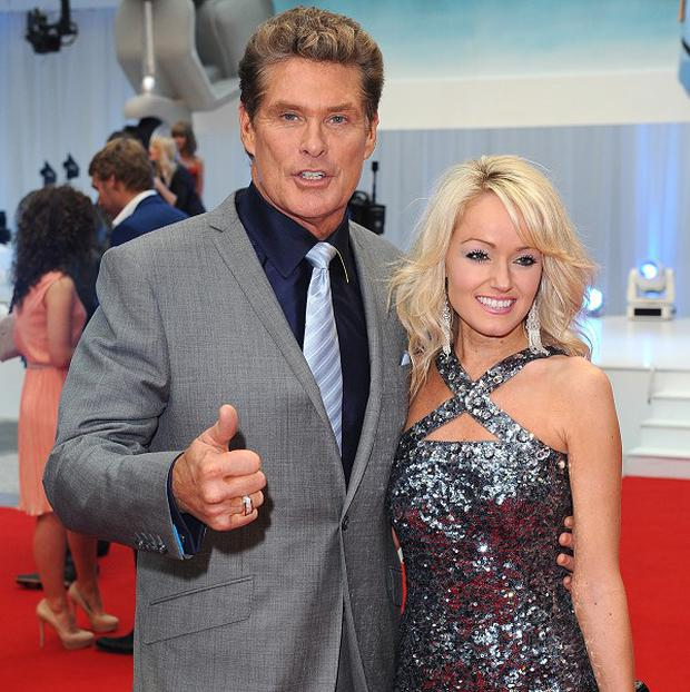 David Hasselhoff says girlfriend Hayley Roberts has turned down marriage proposals