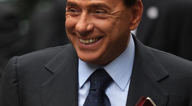 Italian Prime Minister Silvio Berlusconi was in court for the resumption of one of four trials against him
