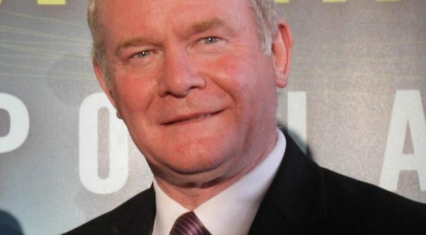 Sinn Fein's Martin McGuinness said he has already received support for his campaign from victims of IRA violence