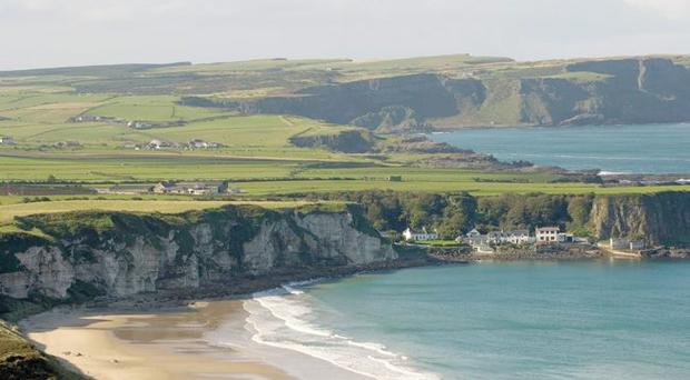 White Park Bay on the Antrim coast will not disappoint, unlike Sydney's Bondi Beach