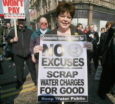 Breaking point: Former PUP leader Dawn Purvis fights water rates