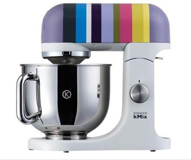 <b>Kenwood Stripes Barcelona</b><br/> Serious bakers need serious mixers and this, apart from its fun stripes, is a serious mixer. The stripes come in five different colourways and accessories include a balloon whisk, five-litre stainless-steel bowl, beater and dough hook. <br/> <b>Where</b> www.kenwoodworld.com <br/> <b>How much</b> £399