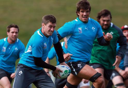 2011 Rugby World Cup, Ireland Rugby Squad Training, Owen Delaney Park, Taupo, New Zealand - Ronan O'Gara