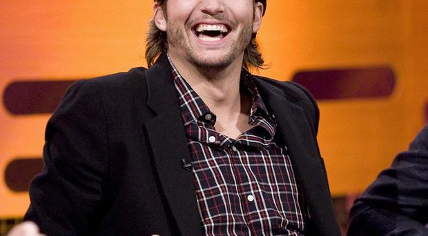 Ashton Kutcher's debut in Two and a Half Men has set a new ratings record