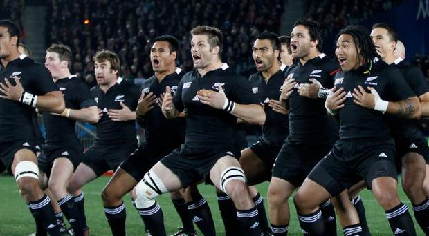After the haka, New Zealand and their opposition must wait for TV advertisements to end before the match can begin