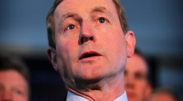 Enda Kenny has signalled his commitment not to hike taxes in the Budget must first be signed-off by Europe and the IMF