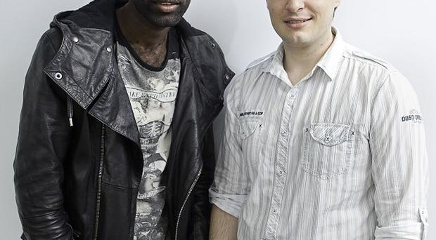 Wretch 32 and Stand Against Violence campaigner Adam Fouracre