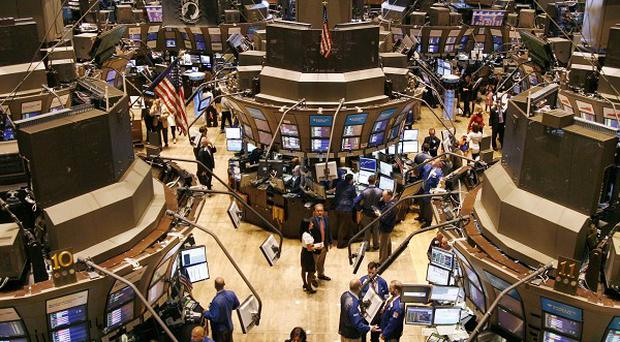 The Dow Jones closed down 283 points at 11,124
