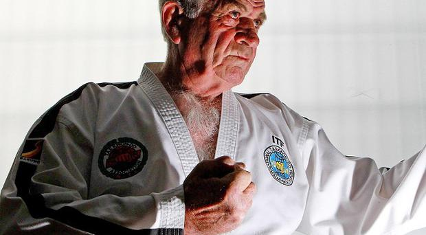 Robert Howard, 72, has become the first European inducted into a martial arts hall of fame
