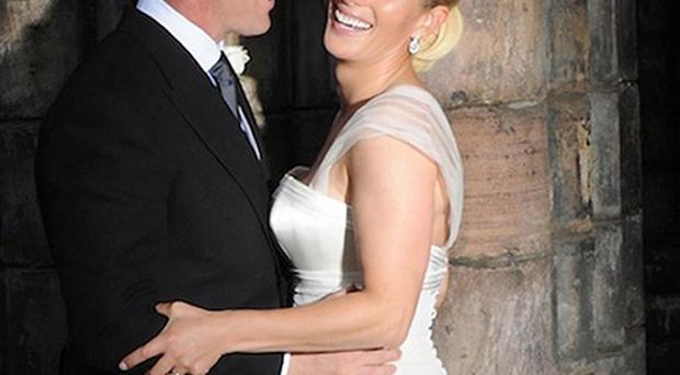 Zara Phillips and Mike Tindall married in Edinburgh in July