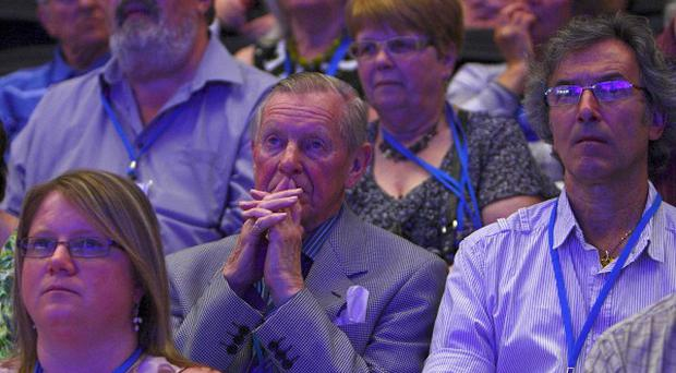 National Association of Head Teachers conference delegates, who will be asked to vote on strike proposals in a row over pensions