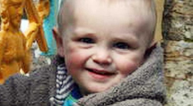 Two-year-old Izaak Stevens was suffocated with a pillow by his mother, a coroner was told (North Wales Police/PA)