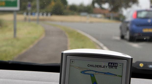 More than half of young drivers try to race their satnav's estimated journey time, a poll claims