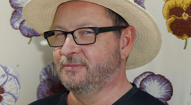 Lars von Trier at the controversial Cannes press conference