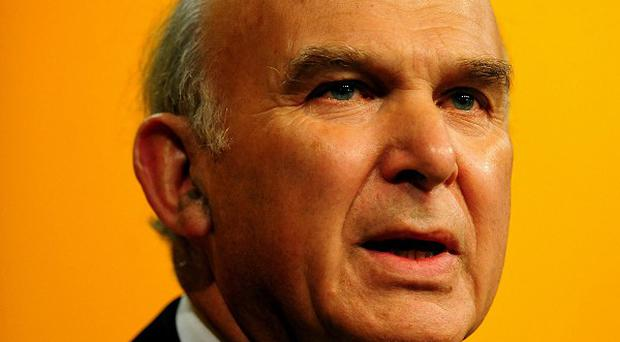 Secretary of State for Business Vince Cable will reportedly deal with oil and gas firms