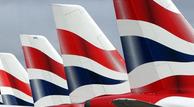 A man has been jailed for a 'foul' rant on a British Airways plane after cabin crew refused to serve him alcohol