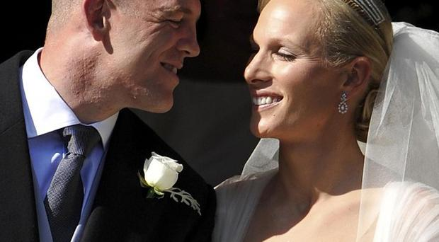 Mike Tindall and Zara Phillips married in Edinburgh on July 30