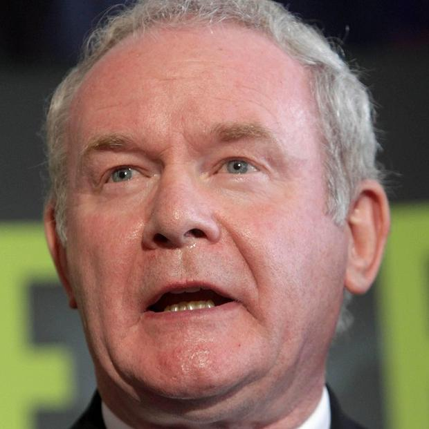 Irish presidential hopeful Martin McGuinness