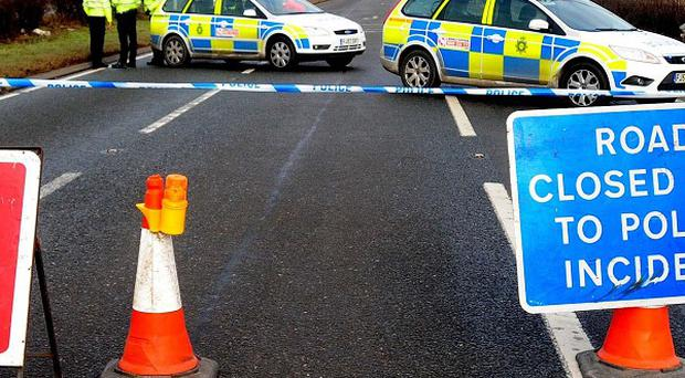 A teenager is in a critical condition in hospital after the stolen vehicle he was travelling in crashed during a police pursuit