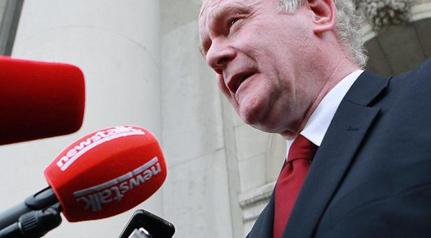 Presidential hopeful Martin McGuinness has denied ever killing anyone during his time in the IRA