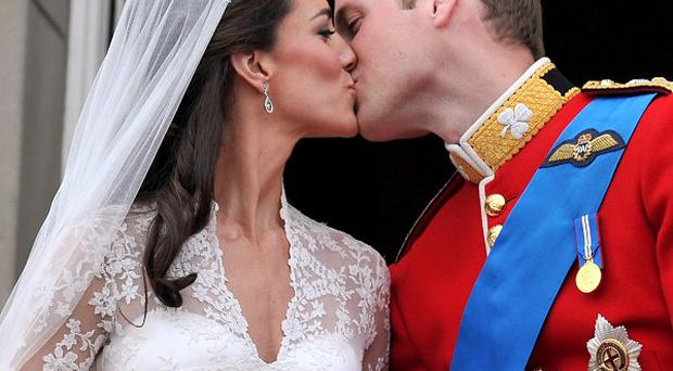 The Duke of Cambridge put in a special request for a wedding day picture, with one of Fleet Street's famous royal photographers