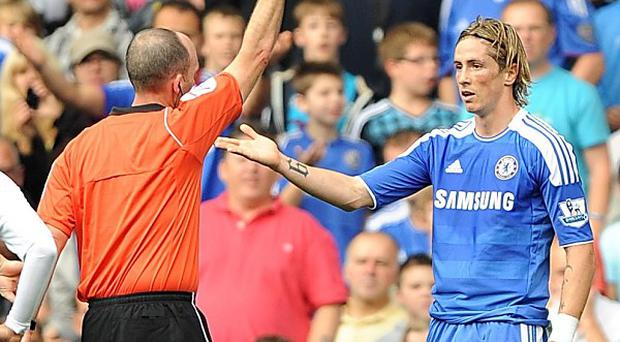 Fernando Torres (right)