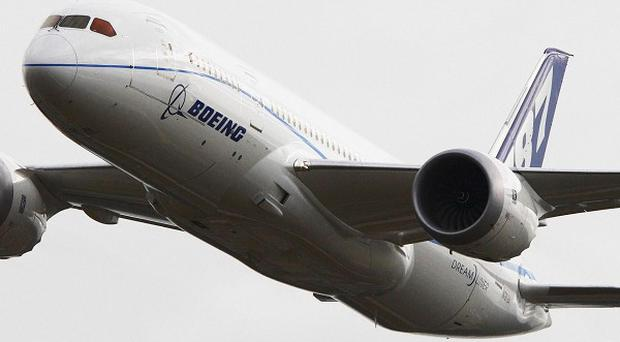 Boeing is to deliver its first 787 plane