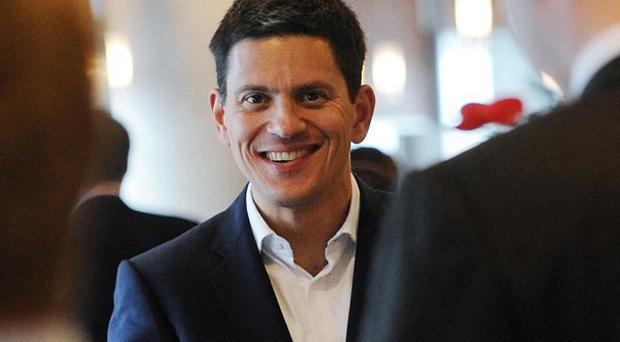 David Miliband made a fleeting visit to the Labour conference, and hailed his brother Ed's leadership of the party