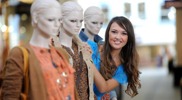 Fashionista Ciara McStravick launches Fairhill Shopping Centre's 'Fashion Lives' event which takes place on Saturday 1 October.