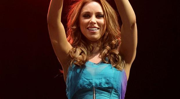 Una Healy of The Saturdays is sailing through her pregnancy