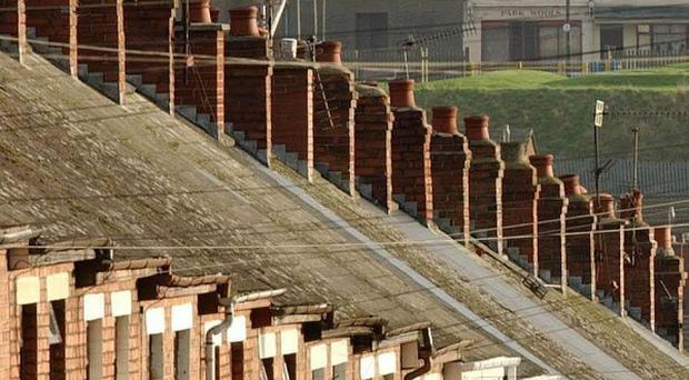 Terraced houses increased in value by more than any other type of home over the past decade, according to research
