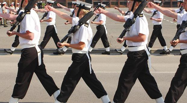 Sailors in the Royal Navy are set to be told which of them are being made redundant