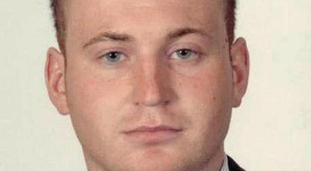 Constable Ronan Kerr, 25, died in April when an improvised explosive device detonated under his car