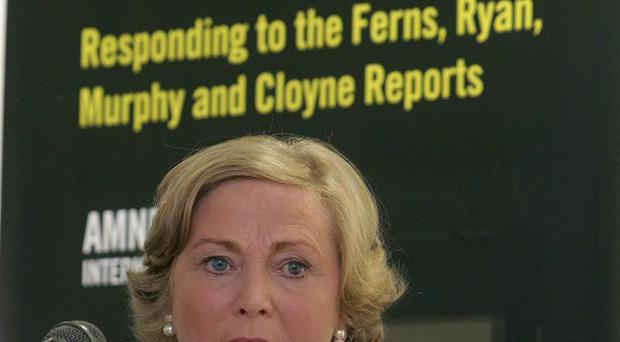 Children's Minister Frances Fitzgerald launches Amnesty's report at the Royal Hibernian Academy in Dublin