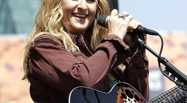 Melissa Etheridge has received a Hollywood Walk of Fame star (AP)