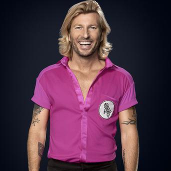 Robbie Savage is finding his Strictly training much harder than football