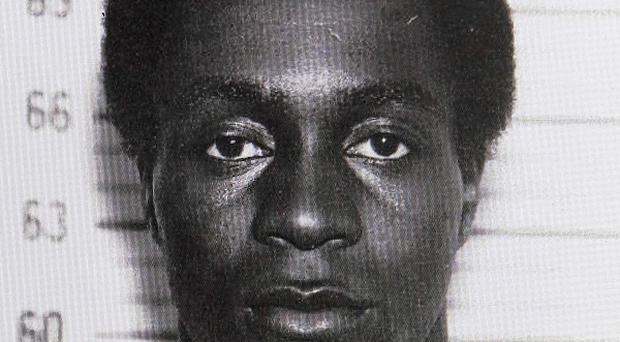 Photo dated 1963 of George Wright who has been arrested after more than 40 years as a fugitive (AP)