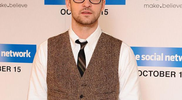 Justin Timberlake has tried to reduce his carbon footprint during his tours