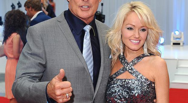 David Hasselhoff now plans a bungee jump proposal for Hayley Roberts