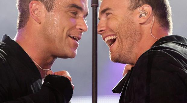 Robbie Williams wouldn't want Gary Barlow's seat on The X Factor judging panel