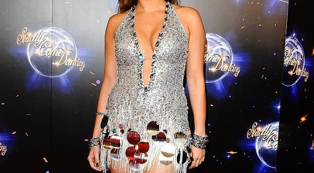 Holly Valance has admitted she's finding dance training tough